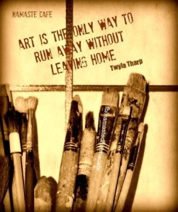 Twyla Tharp- Art is the Only Way