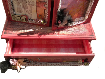 jewelry box drawer