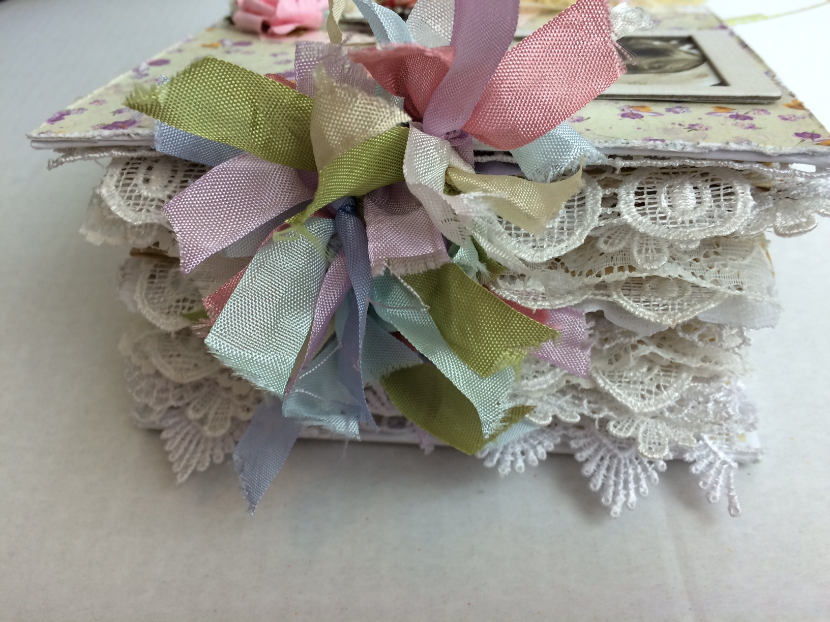 Shabby Chic Colors For 2015 : Shabby chic vintage junk journal