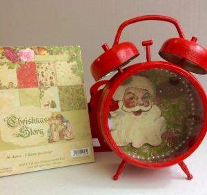 nko Christmas Clock 1