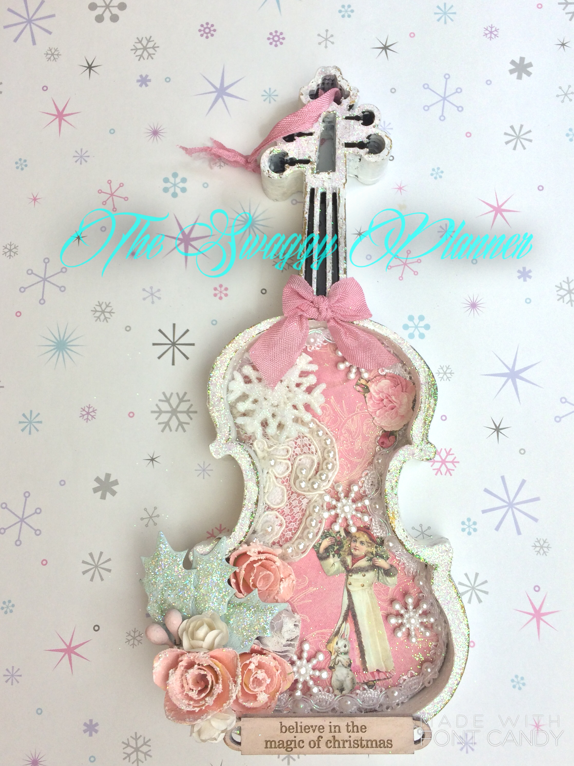 Violin christmas ornaments - Christmas Preview Day 4